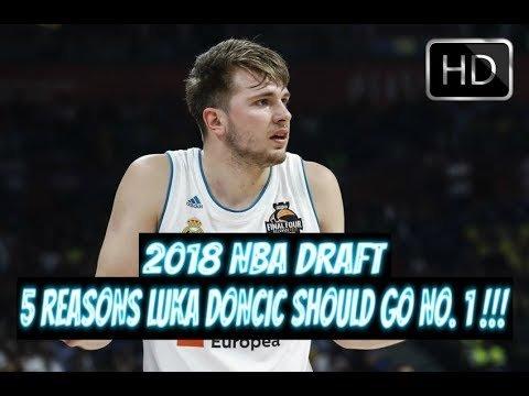 2018 NBA DRAFT – 5 REASONS LUKA DONCIC SHOULD GO NO. 1