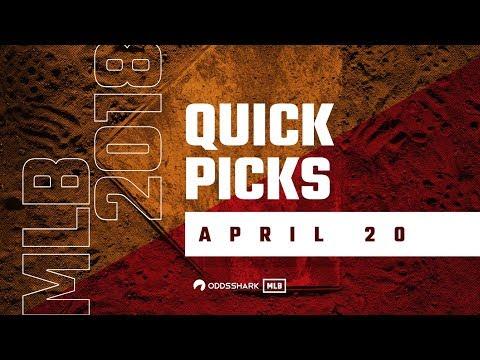 Major League Baseball Betting Quick Picks and Odds